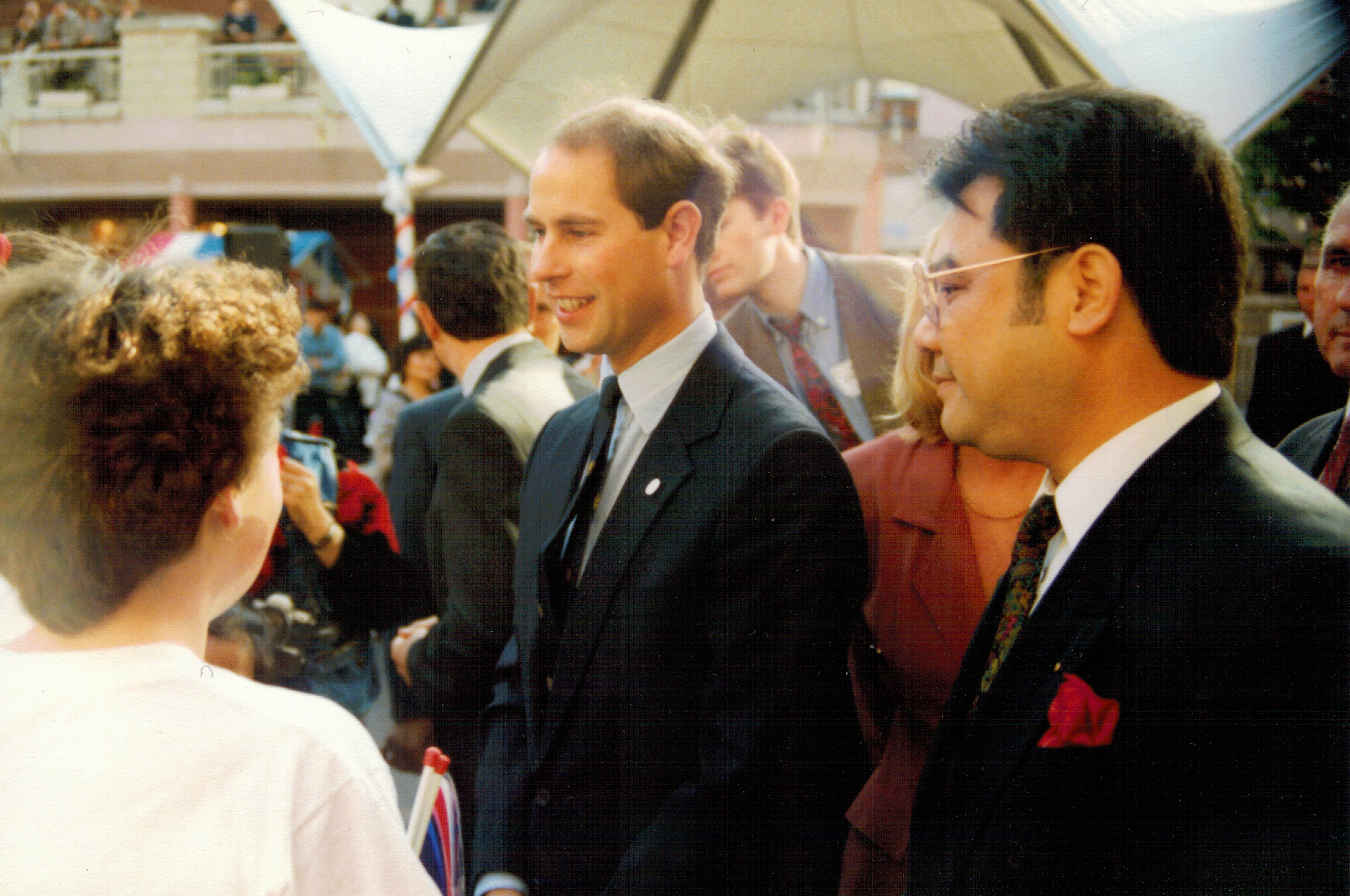Copy of 1993 - 14 Prince Edward with Chair Roger Li
