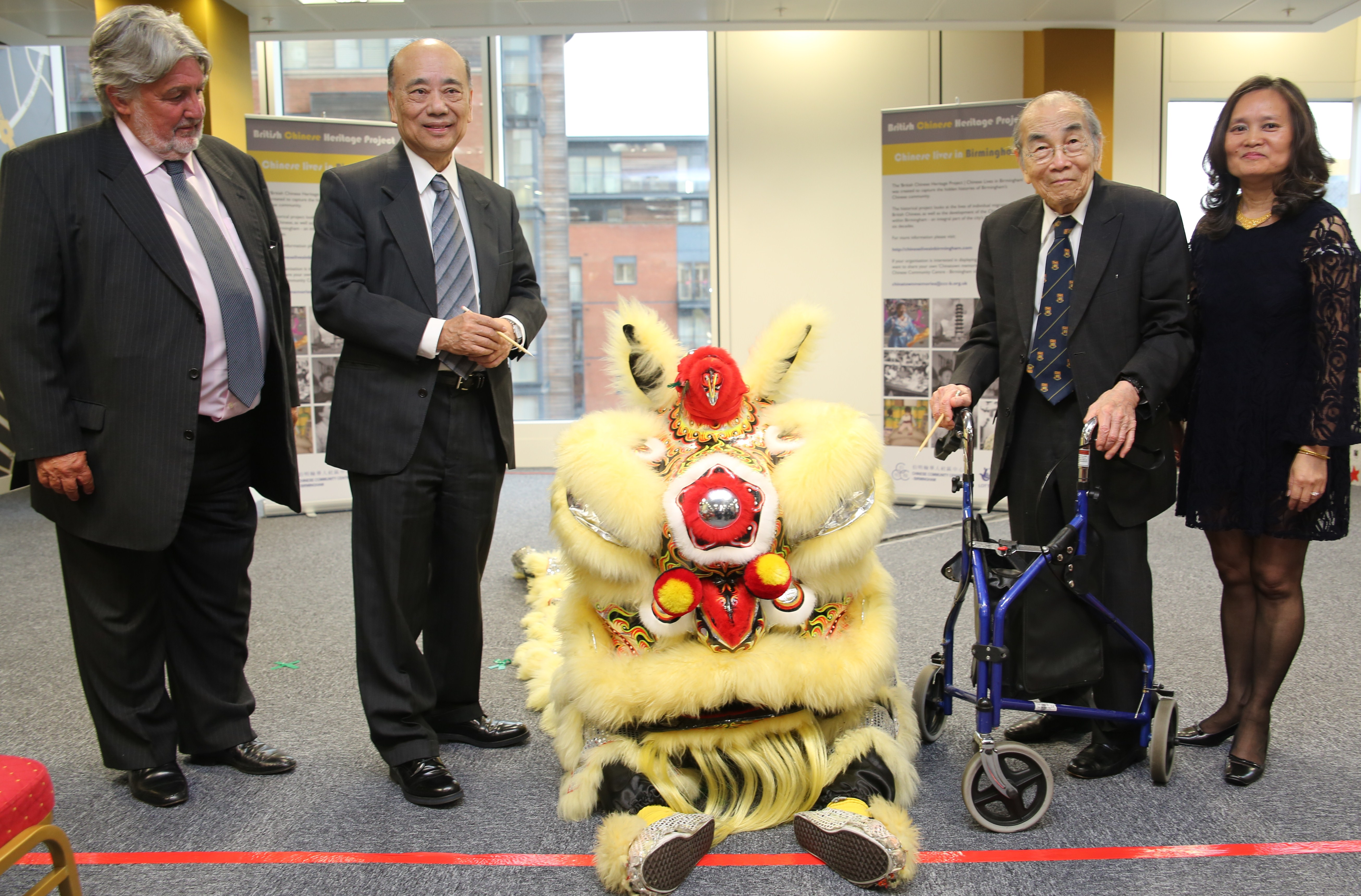 The exhibition launch at The Cube received coverage in local, national and international media - Lion
