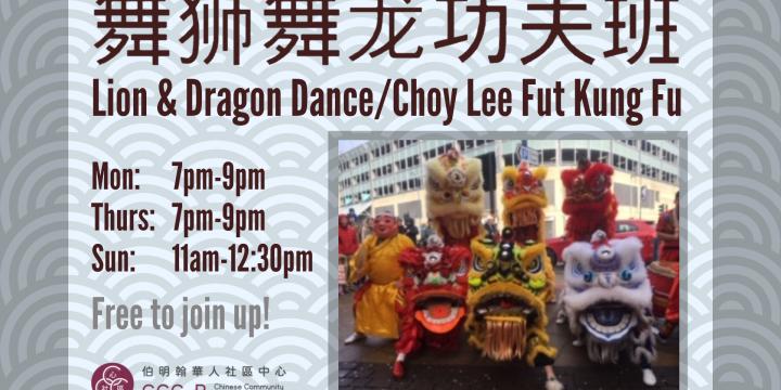 Lion and Dragon Dance 蔡李佛醒狮团