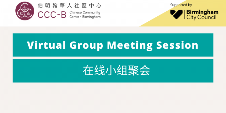 Virtual Group Meeting Session – 在线小组聚会