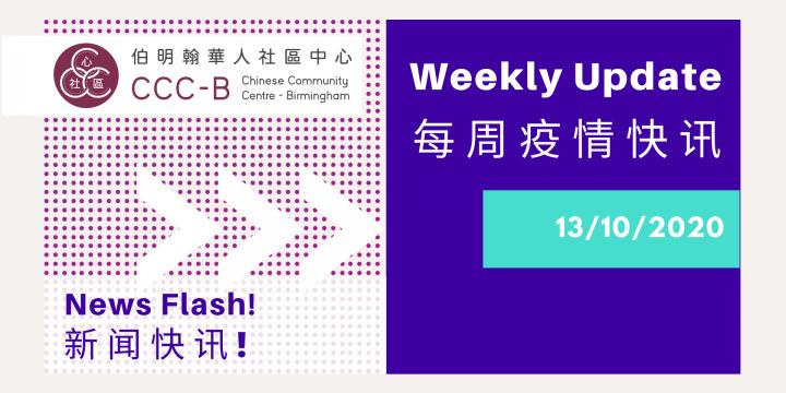 News Flash! 新闻快讯! 13/10/2020