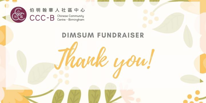 DimSum Fundraiser –  Thank you from us!
